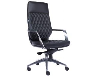Кресло Roma (Рома) Кожа Черный