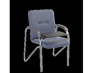 Стул Samba T (Самба) Chrome V15 W1031 Синий со столиком