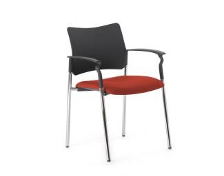 Кресло Pinko (Пинко) Красный на опорах подл