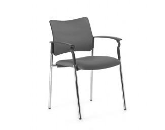 Кресло Pinko (Пинко) Серый на опорах подл