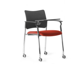 Кресло Pinko (Пинко) Красный со столиком