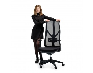 Офисное кресло Viking-11 (Викинг) Черный